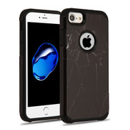 Hybrid Multi-Layer Armor Case for iPhone 8 / 7 - Marble Black