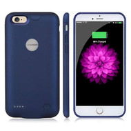 Ultra Thin Smart Power Bank Battery Charger Case 3000mAh for iPhone 6 Plus / 6S Plus - Blue