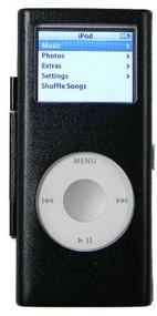 Aluminum Armor Shield Case for 2nd Generation iPod Nano - Black