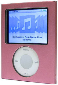 Flip-Top Aluminum Hard Case and Screen Protector for 3rd Generation iPod Nano (Pink)