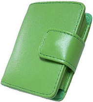 Slim Leather Case and Screen Protector for 3rd Generation iPod Nano (Green)
