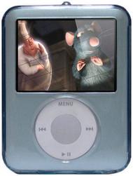 Crystal Body Shield Case for 3rd Generation iPod Nano (Blue)