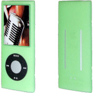 Anti-Slip Silicone Skin for 4th Generation iPod Nano (Green)