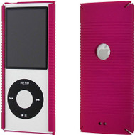 Ultra Slim Hard Shell Case for 4th and 5th Generation iPod Nano (Hot Pink)