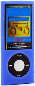 Anti-Slip Silicone Skin for 5th Generation iPod Nano 5G (Blue)