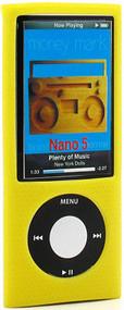 Anti-Slip Silicone Skin for 5th Generation iPod Nano 5G (Yellow)