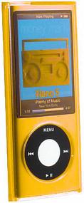 Transparent Acrylic Case for 5th Generation iPod Nano 5G (Orange)
