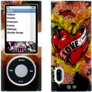 Snap-On Graphic Hard Case for 5th Generation iPod Nano 5G (Love Tattoo)