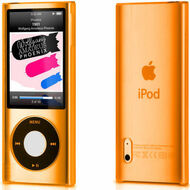 Crystal Shield Case for 5th Generation iPod Nano 5G (Orange)