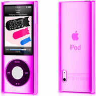 Crystal Shield Case for 5th Generation iPod Nano 5G (Pink)