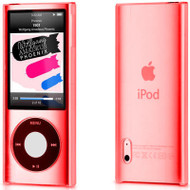 Crystal Shield Case for 5th Generation iPod Nano 5G (Red)