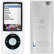 Diamond-Cut Polymer Case for 5th Generation iPod Nano 5G (Clear)