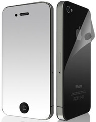Mirror Reflect Screen Protector for iPhone 4 / 4S - Front & Back