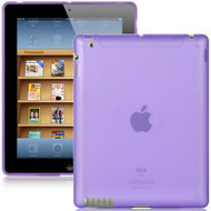 Flexi Gel Case for iPad 2, iPad 3 and iPad 4th Generation - Purple