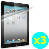 Crystal Clear Screen Protector for iPad 2, iPad 3 and iPad 4th Generation - 3 Pack