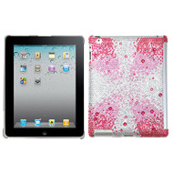 Diamante SmartSlim Case for iPad 2, iPad 3 and iPad 4th Generation - Pink Starburst Gem Gradients