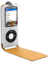 Leather Folio Case 4th Generation iPod Nano 4G - White