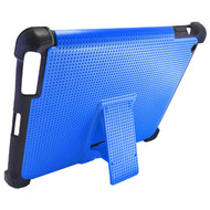 Duo Action Hybrid Case with Kickstand for iPad 2, iPad 3 and iPad 4th Generation - Blue