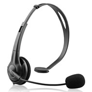 NoiseHush NX70 Crystal Clear Over-The-Head Multimedia Headset with Microphone