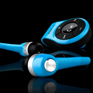 *Sale* NoiseHush NS560 Clip-on Bluetooth Stereo Headset / Dongle - Blue