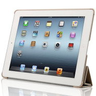 Naztech Slim Hybrid Smart Case for iPad 2, iPad 3 and iPad 4th Generation - Beige