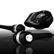 NoiseHush NS560 Clip-on Bluetooth Stereo Headset / Dongle - Black