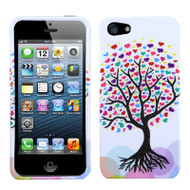 Snap-On Protective Image Case and Screen Protector for iPhone SE / 5S / 5 - Love Tree