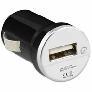 Low Profile Car Charger Adapter - Black