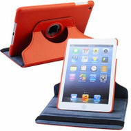 *SALE* 360 Rotating Leather Hybrid Smart Case for iPad Mini - Orange