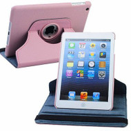 *SALE* 360 Rotating Leather Hybrid Smart Case for iPad Mini - Pink
