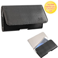 Leather Folio Hip Case - Wavy