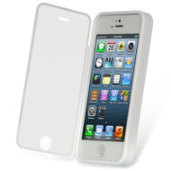 *SALE* Gelli Flip Case with Integrated Screen Protector for iPhone SE / 5S / 5 - White