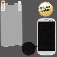 *Sale* Glitter Full Screen Protector for Samsung Galaxy S3 (Gold)
