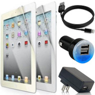 HD Accessory Bundle Kit for iPad 4th Generation - Black