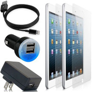 HD Accessory Bundle Kit for iPad Mini - Black
