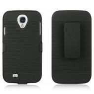 *SALE* Armor Shell Case with Holster Combo for Samsung Galaxy S4 - Black