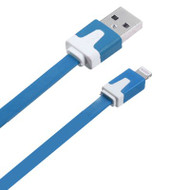 Mybat Noodle Lightning Connector to USB Charging and Sync Cable - Blue