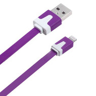Mybat Noodle Lightning Connector to USB Charging and Sync Cable - Purple