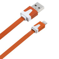Mybat Noodle Lightning Connector to USB Charging and Sync Cable - Orange