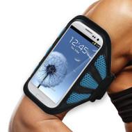 Mesh Sport Armband - Blue
