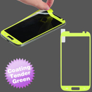 *$1 SALE* Color Coating Anti-Glare Screen Protector for Samsung Galaxy S4 - Tender Green