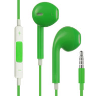 Mybat Hi-Fi Dynamic Stereo Hands-free Headset with Mic - Green