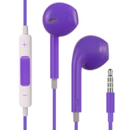 Mybat Hi-Fi Dynamic Stereo Hands-free Headset with Mic - Purple