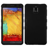 *SALE* Military Grade TUFF Hybrid Case for Samsung Galaxy Note 3 - Black