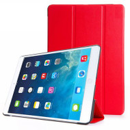 All-In-One Smart Hybrid Case for iPad (2017) / iPad Air - Red
