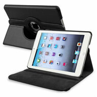 *SALE* 360 Degree Smart Rotary Leather Case for iPad (2018/2017) / iPad Air - Black