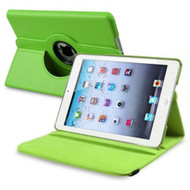 *SALE* 360 Degree Smart Rotary Leather Case for iPad (2018/2017) / iPad Air - Green