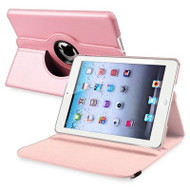 *SALE* 360 Degree Smart Rotary Leather Case for iPad (2017) / iPad Air - Pink