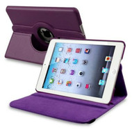*SALE* 360 Degree Smart Rotary Leather Case for iPad (2017) / iPad Air - Purple
