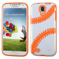 Tentacles Hybrid Case for Samsung Galaxy S4 - Baseball Orange